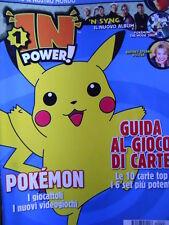 Cartoni in TV IN POWER n°3 2000 - POKEMON Guida al gioco di carte  [G.238]