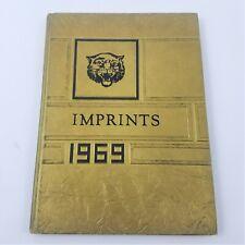 1969 Imprints Hixson Junior High Year Book - Hixson Tennessee