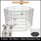 Cozy Pet Playpen Dog Rabbit Puppy Play Pen Cage Folding Run Fence crate Guinea
