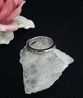 Ring Silber 925 Rodiniert  Zirkonia 57 (18,1 mm Ø)