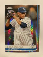 2019 Topps Chrome Jonathan Loaisiga Hyper Prism SP Rookie Card #168 - * RARE! *