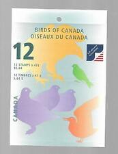 pk45755:Stamps-Canada #BK241b Birds of Canada 12 x 47 cent Booklet