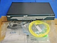 Cisco 1812 Catalyst Enterprise Router 1800 Series CISCO1812 with Accessories