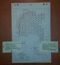 1942 US Army Maps Tunisia GSGS 4225 82 Sheets 1:50,000 ww 2 vintage military