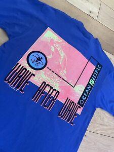 Men's Ocean Pacific Vintage 1991 Back Print T Shirt Tee Size Large Surf Oversize