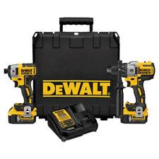 Dewalt Dck299P2 2-Tool Combo Kit - Xr 20V Max HammerDrill & ImpactDriver Kit New