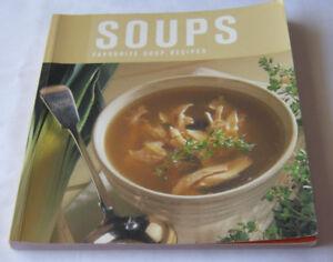 Soups Favourite Soup recipes book Free postage recipe cook book cookbook