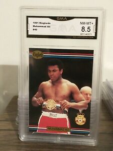 1991 Boxing Players INTL Ringlords #40 Muhammad Ali GMA 8.5 Nm-Mint+