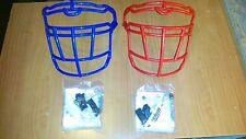 Lotto di 2 griglie nuove casco football Schutt ION4d