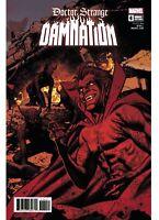 Doctor Strange Damnation #4 Smallwood Variant Marvel comic 1st Print 2018 NM