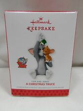 2013 Hallmark Keepsake Ornament Tom and Jerry A Christmas Truce