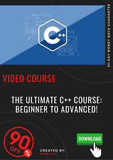 The Ultimate C++ Course: Beginner to Advanced video training course tutorial