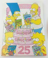 1994 San Diego Comic Con Program Simpsons Sergio Aragones Groo Usagi Yojimbo