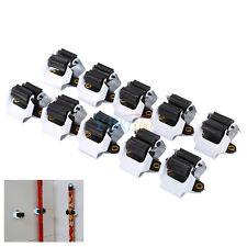 10Stk Gerätehalter Wandhalter Mophalter Werkzeughalter Geräteleiste Besenhalter