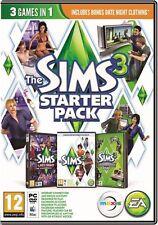 The Sims 3 + Nightlife + High End Loft Stuff (PC/MAC) NEW *Free Post*
