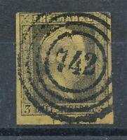 303534) Preußen Nr.4 gestempelt mit Nummernstempel 742 Königsberg
