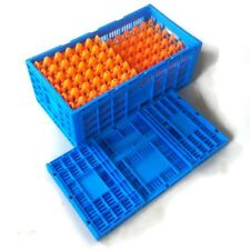 AMAZING FOLDING STORAGE CRATE IDEAL FOR MARKET STALLS Food PRODUCE Toys CLUTTER