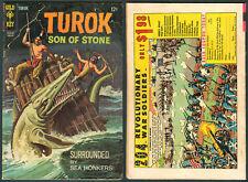 1968 U.S. GOLD KEY TUROK SON OF STONE Scourge Of The Sea Serpents No. 60 Comics