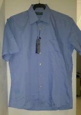 Camisa hombre manga corta talla 40 bervidos modelo 19