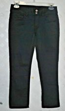 American Eagle Women's ARTIST CROP Stretch Black Pants / Jeans Style 00 Regular
