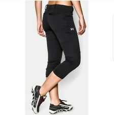 Under Armour Softbol Knee High un salto Pantalón Juvenil Chica/'S M L USP520G Negro