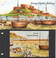 Jersey 2014 MNH Oyster Fishing 1v M/S Presentation Pack Ships Boats