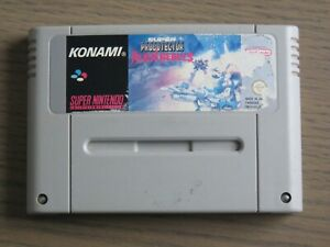 JEU SUPER NINTENDO SNES SUPER PROBOTECTOR ALIEN REBELS