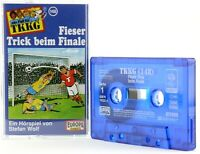 TKKG 148 Fieser Trick beim Finale Europa logo blau Hörspiel MC