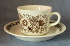 ARABIA  Finland Tuula Vintage Coffee Cup and Saucer, Excellent Condition