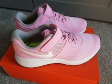 Nike Star Runner Girls kids Shoes Trainers UK Size 2.5 921442 602    PINK