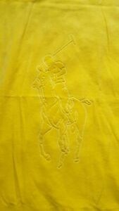 BRAND NEW Yellow Ralph Lauren large soft beach towel swimming holiday ~79x150cm