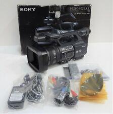 Sony Hdr-Fx1000 Handycam Hdv Digital Video Cassette Professional Camcorder Black