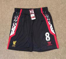 Men's Liverpool football shorts size L number 8 Warrior 2013-2014 BNWT