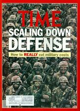 1990 Time Magazine: Scalling Down Defense - How to Really Cut Military Costs