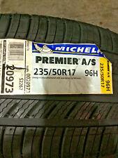 1 New 235 50 17 Michelin Premier A/S Tire