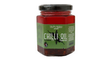 Vegetarian Chilli Oil 160g of tasty tangy sweet mildly hot sauce gluten free