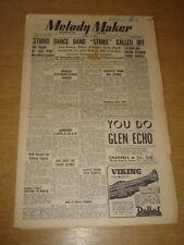MELODY MAKER 1948 APRIL 24 VICTOR FELDMAN STUDIO BAND STRIKE JAMBOREE +
