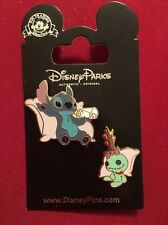 Disney Parks- Stitch And Scrump -NEW! Trading Pin