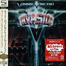 VINNIE VINCENT INVASION - SELF TITLED -  Japan Jewel Case SHM - CD - UICY-25613