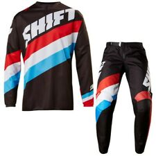 NEW SHIFT WHIT3 TARMAC MOTOCROSS MX KIT INC GLOVES CLEARANCE