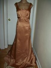 FORMAL DRESS EVENING BALL GOWN PROM PARTY COCTAIL WEDDING BRIDESMAID SIZE 14 NWT