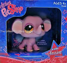 LITTLEST PET SHOP ❃ PURPLE ELEPHANT #1086 ❃ NIB ❃ LIMITED EDITION MAIL REQUEST
