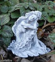 Latex garden princess mold plaster concrete casting mould