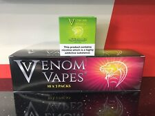 VENOM VAPES #1 AFTERSHOCK LEMON & LIME WITH ABSINTHE 3mg Nic, 30 x 10ml Bottle