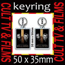 BILLIONS CULT TV AND FILM  KEYRING- KEY CHAIN- KEY RING 35X50MM #1
