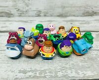 Disney Pixar Mattel Toy Story Zing Ems Roller Mini Figures Bundle Trixie, Lenny