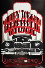 Led Zeppelin Fillmore West 1969 Concert Poster > 2nd Print