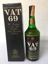 Vat 69 Finest Scotch Whisky WM. Sanderson Edinburgh 75cl 40% Vol. Vintage