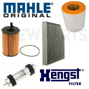 For Audi A6 A7 Quattro TDI 14-16 Oil Filter w/ Air Cabin & Fuel Filter OEM KIT