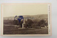 original CDV Foto Taubberbischofsheim & Wertheim Denkmal um 1880